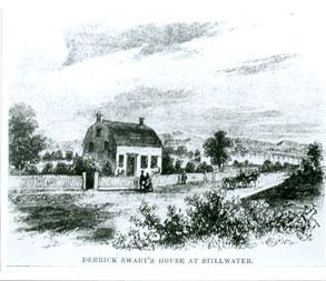 old farm plantation drawing