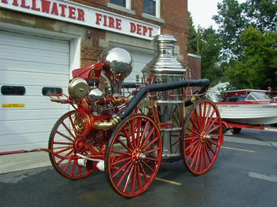 old fire steamer