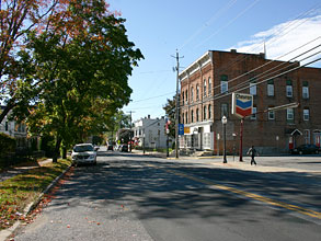 downtown Stillwater street