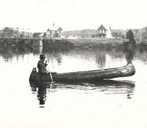 hudson river canoeist