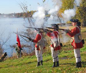 militia fires it guns