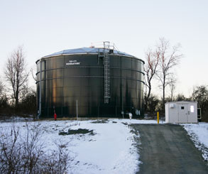large water holding tank